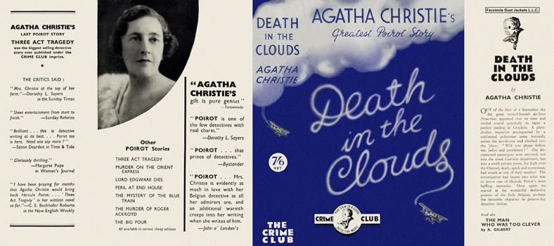 Death in the Clouds. Agatha Christie.