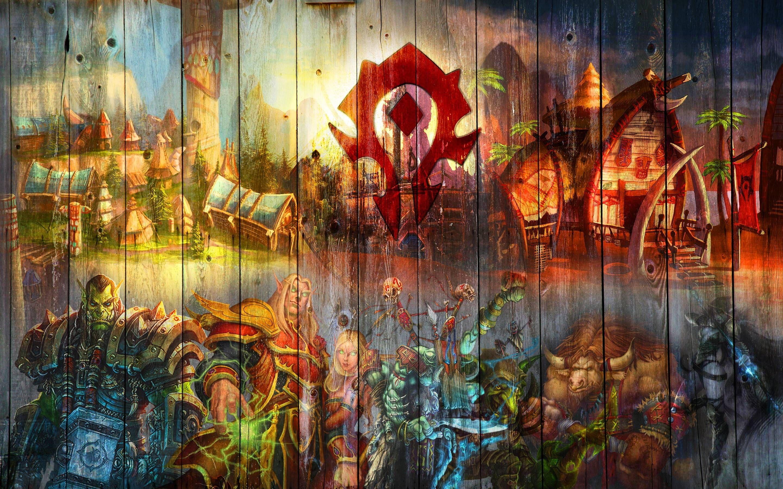 WOW Wallpaper Horde Fantastic Backgrounds of WOW Horde