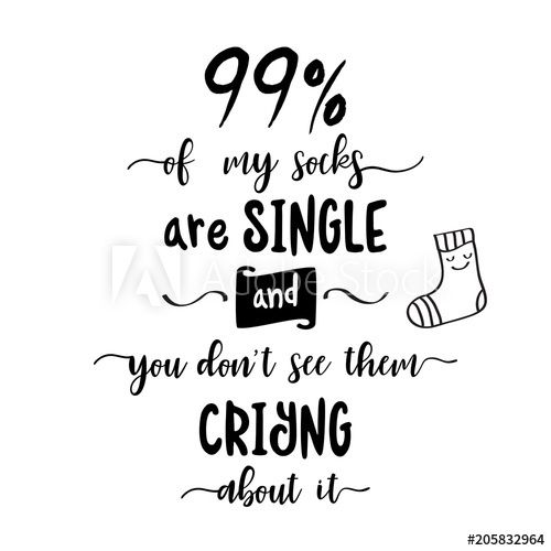 Funny  hand drawn quote about love