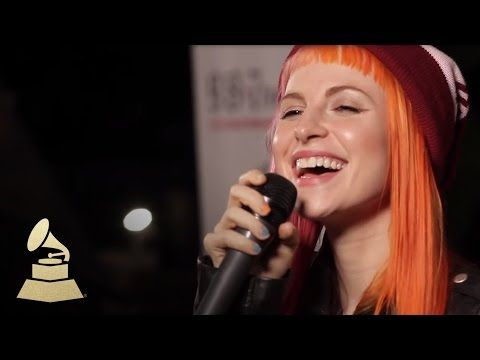 Live performance of Paramore's new single, Still Into You   GRAMMYs - YouTube