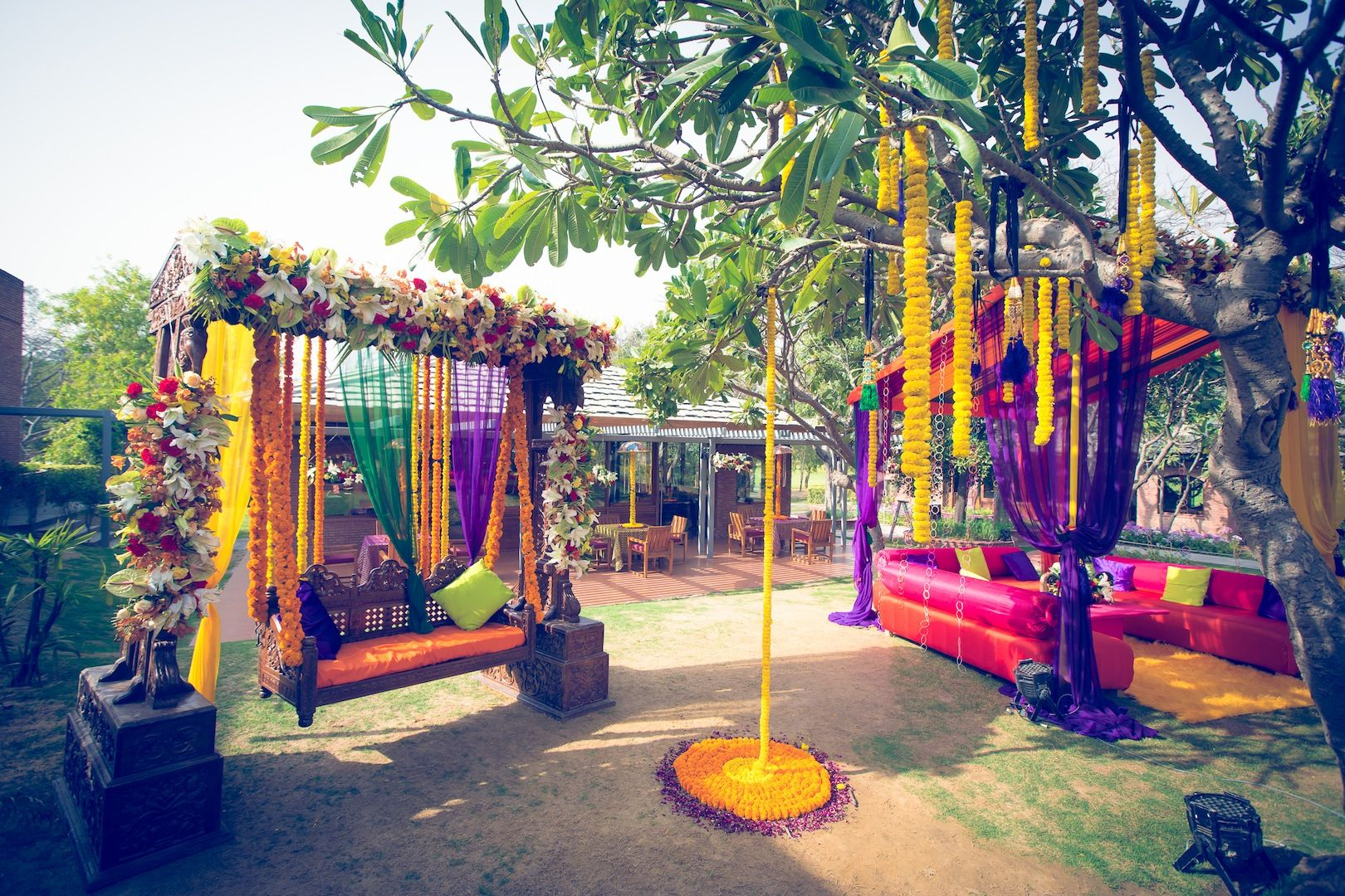 wedding stage decoration pics%0A Find this Pin and more on Wedding Decor Elegant Themes by bandbaajaplan