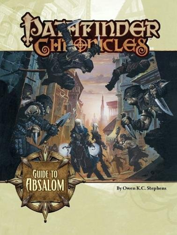 (2009) Pathfinder Chronicles Guide to Absalom by Paizo
