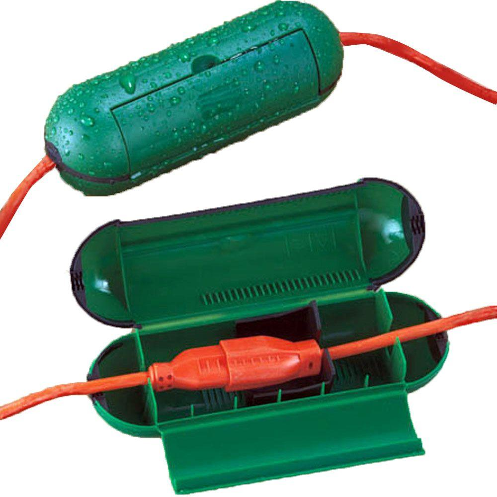 Extension Cord Safety Seal Green 2
