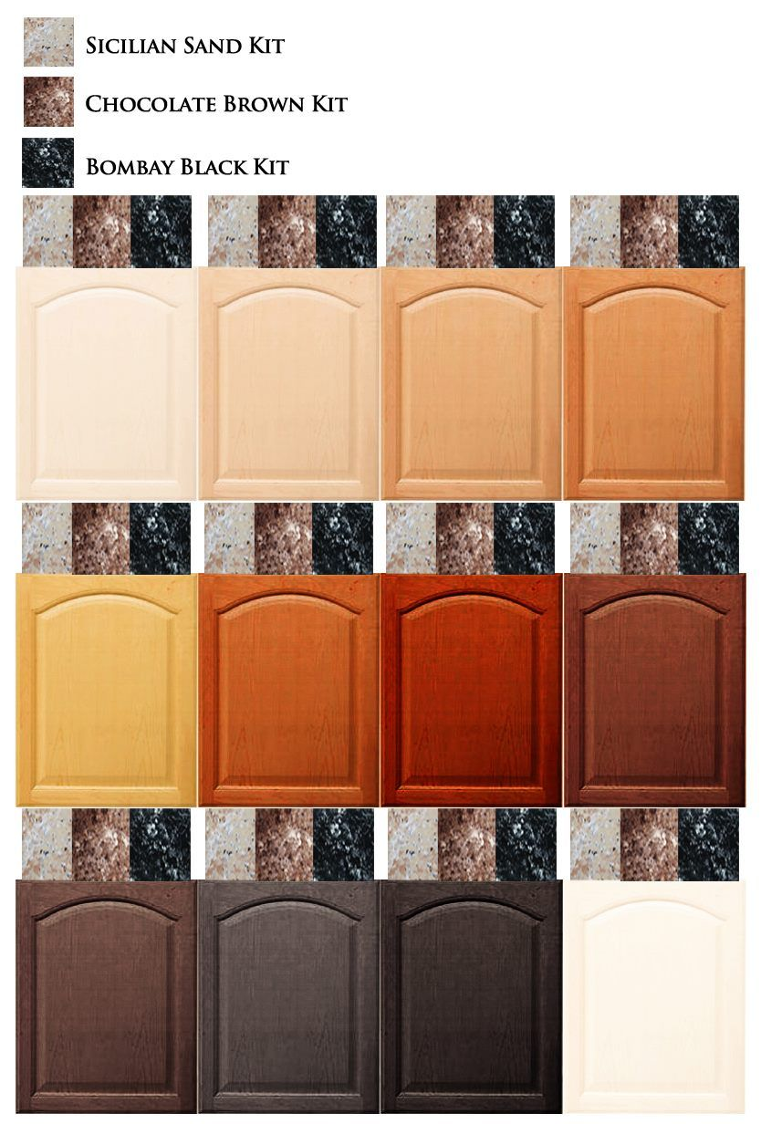 Colors That Match With Brown match your giani granite countertop paint to your cabinets. www