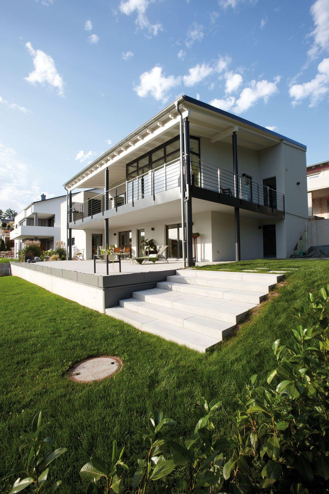 bien zenker oder fingerhaus ückansicht des Luxus Hanghauses von rechts  infamilienhaus ...