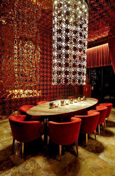 Jumeirah Hotel Yuukai Restaurant Baku C Eren Yorulmazer Decor Design Design Lighting Design