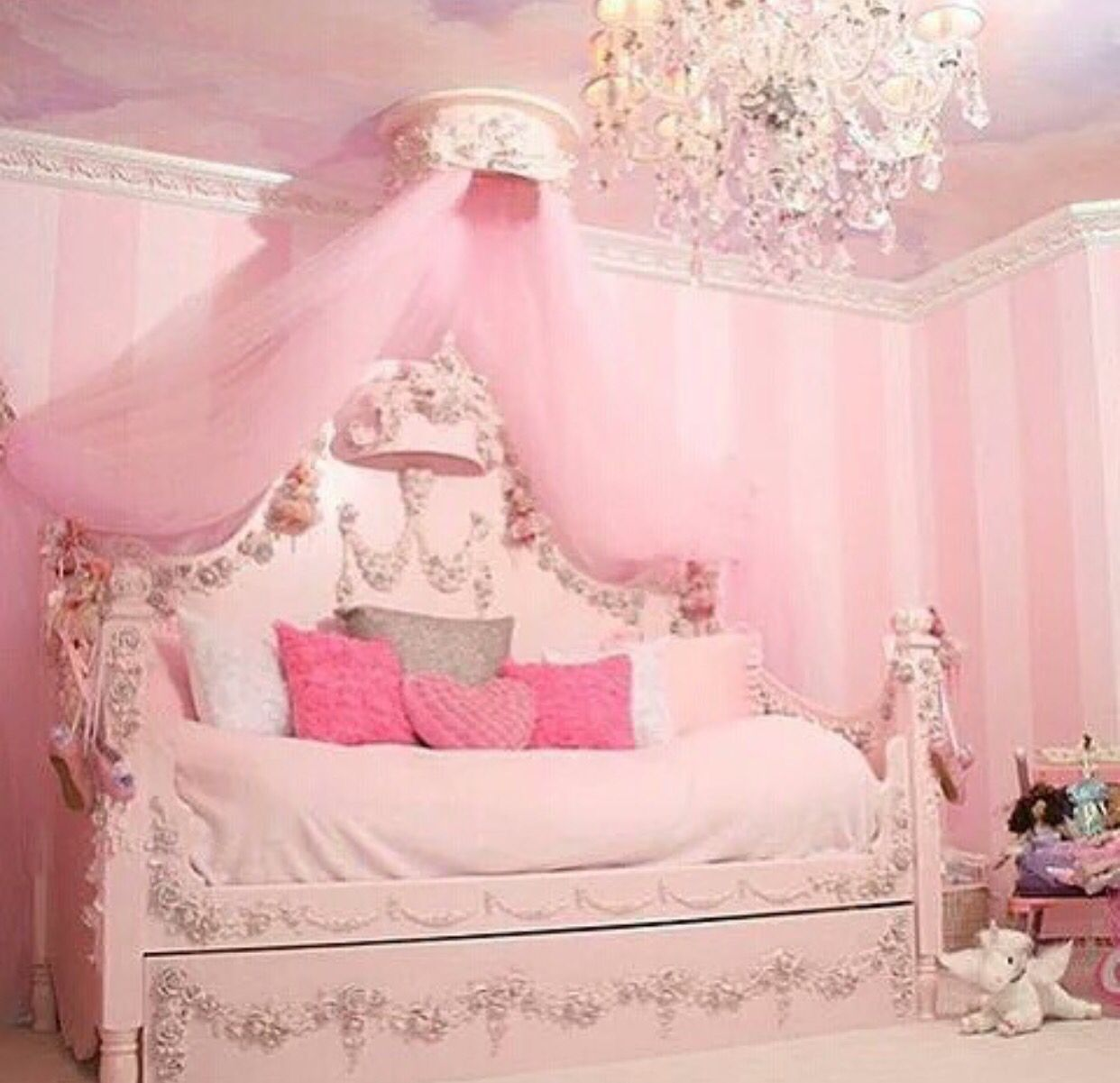pink princess daybed | dream house | pinterest | pink princess