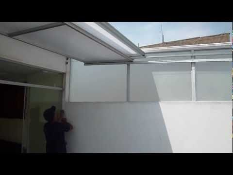 Video de techo corredizo youtube techos de - Precio de policarbonato ...