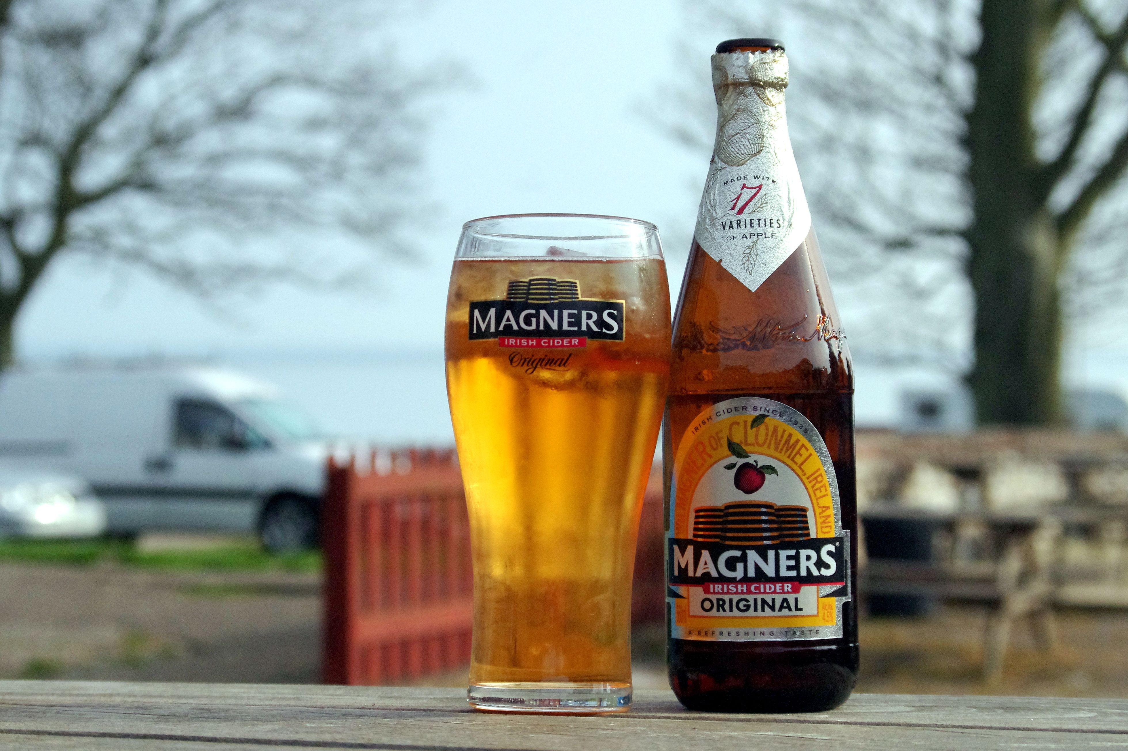 Magners, my Favourite Beer Garden tipple..... Ship Inn