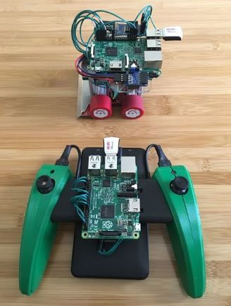 Make A Raspberrypi Powered Sumobot Httpinstructablesid