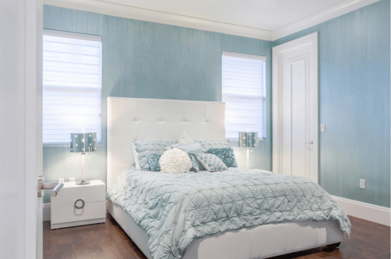 Pantone Airy Blue Blue Bedroom Decor Blue White Bedroom Baby