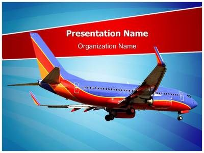 Southwest airlines powerpoint template is one of the best aviation southwest airlines powerpoint template toneelgroepblik Image collections