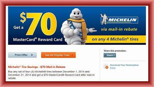 Michelin Tire Rebate >> Michelin Tire Rebate December 2014 Lo Michelin Tires