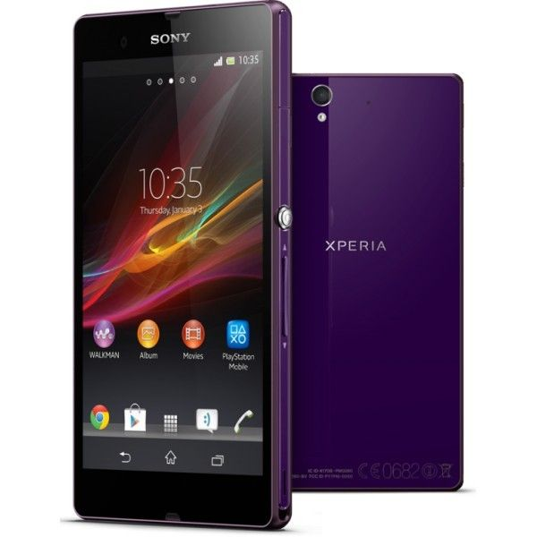 Sony Xperia Z is a Waterproof  Android smartphone sporting a 5.0-inch HVGA 1080 x 1920 display.