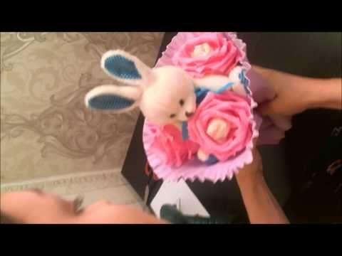 Изготовление основы... для букета из конфет. Мастер класс !!! - YouTube