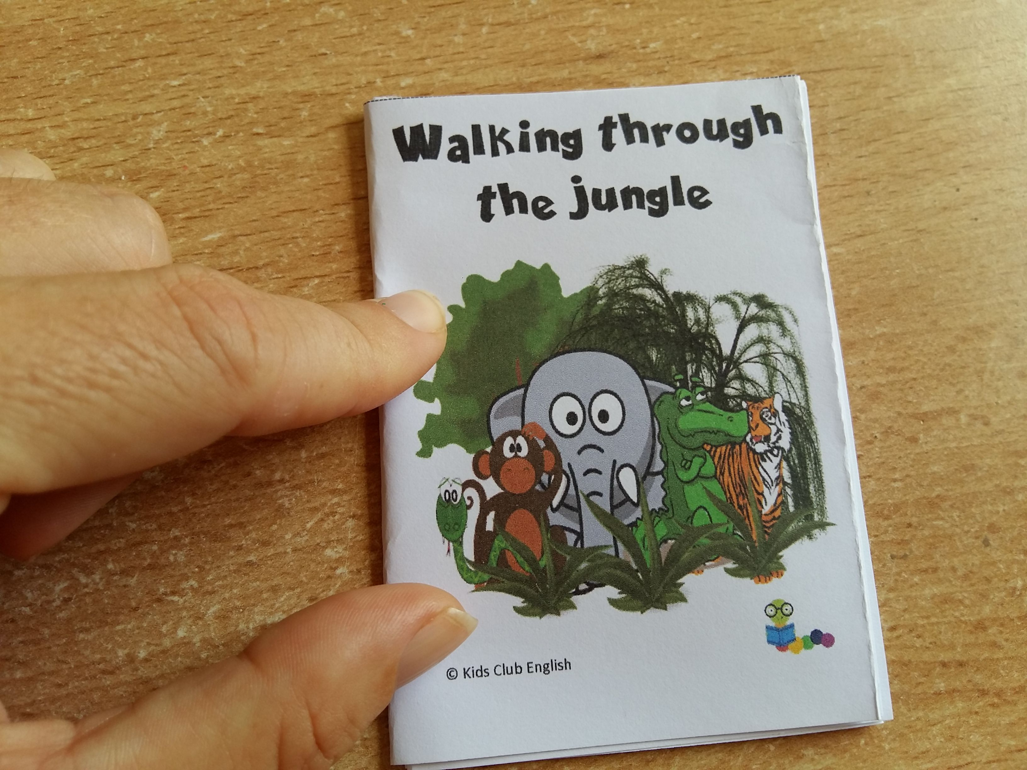 Walking Through The Jungle Activity Pack