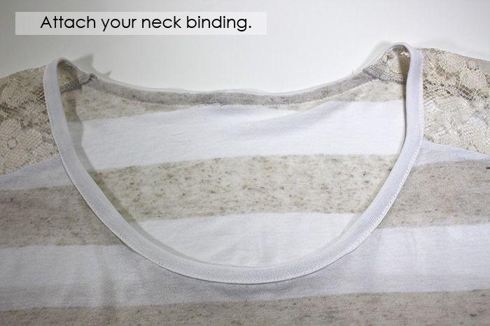 Contrast Shoulder Slouch Tee - iCandy handmade