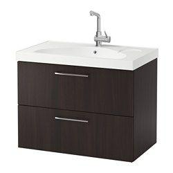 Muebles de ba o y armarios para lavabo ikea casa for Gabinete de almacenamiento de bano barato