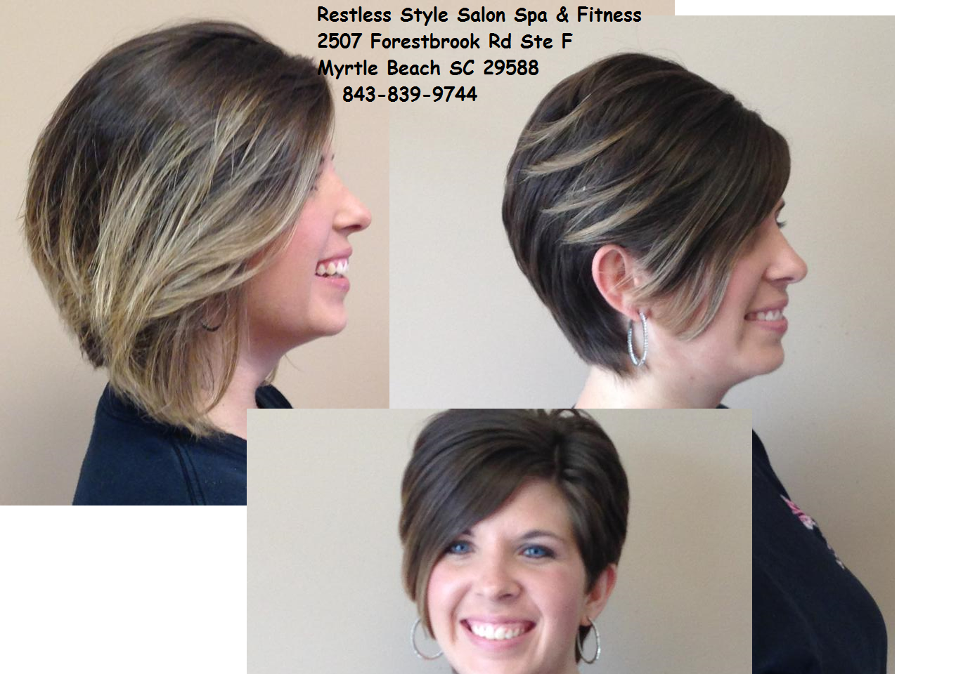 Before And After Picture From Restless Style Salon Spa Fitness Myrtle Beach Beauty Salon Beach Beauty Beauty Skin Care Specialist