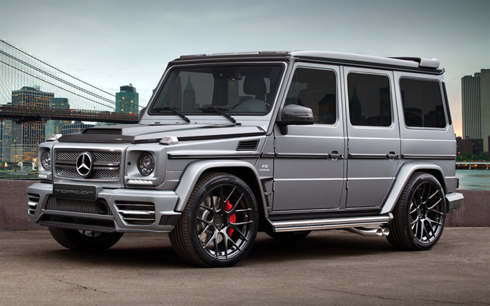 Download Wallpapers Mercedes Benz G65 Amg W463 2017 Cars Tuning