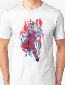 Goku God Blue Kaioken x10 T-Shirt