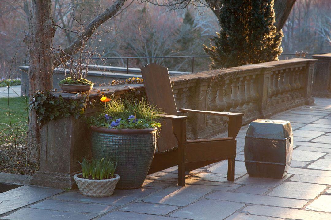 to Chanticleer Outdoor decor, Botanical gardens