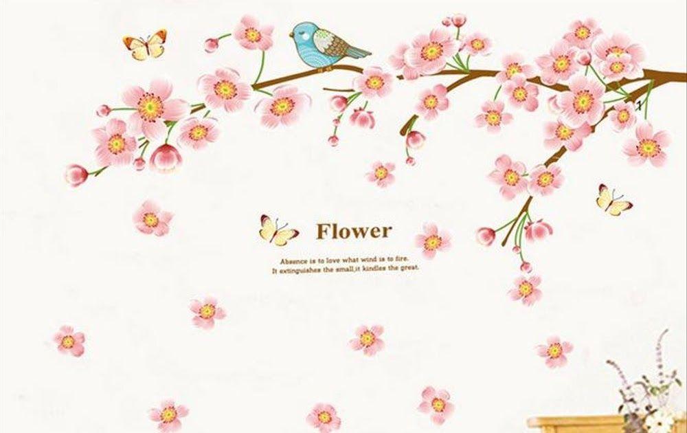 Gambar Bunga Sakura Di Tembok Jual Stiker Dinding Wallpaper 60x90cm Motif Karakter Bunga Sakura Download 4 Fakta Bunga Tabe Gambar Bunga Bunga Bunga Sakura