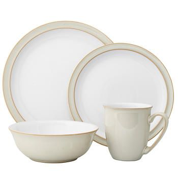 Denby Linen 16-pc. Dinnerware Set  sc 1 st  Pinterest & Denby Linen 16-pc. Dinnerware Set | Dishes | Pinterest | Dinnerware ...