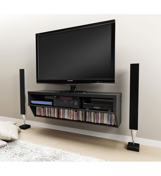 Create A Sleek Setup For Your Flat Screen With One Of The Tv