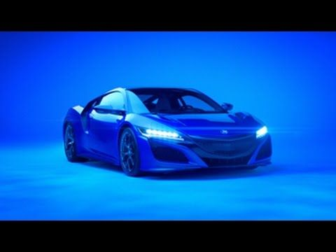 Acura Shows Off Its New Nsx Supercar In Avant Garde Super Bowl