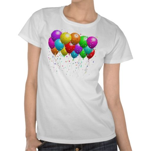 Party Time Balloons Tshirt
