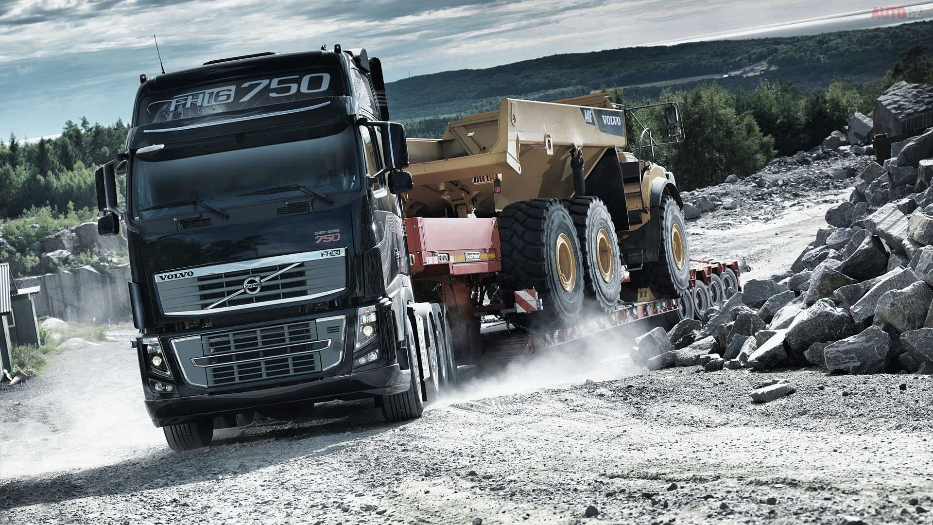 Volvo Truck Wallpaper HD Resolution UjG
