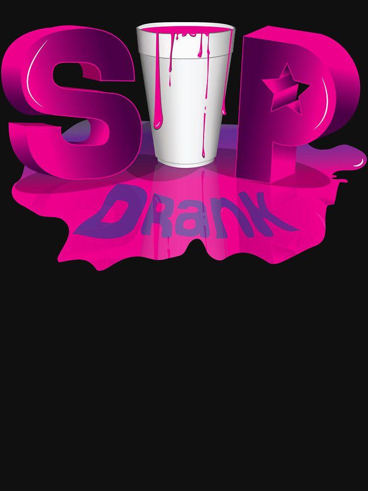 Lean Purple Drank Swag Dirty South Hip Hop Codeine Cowboy Sprite Cup