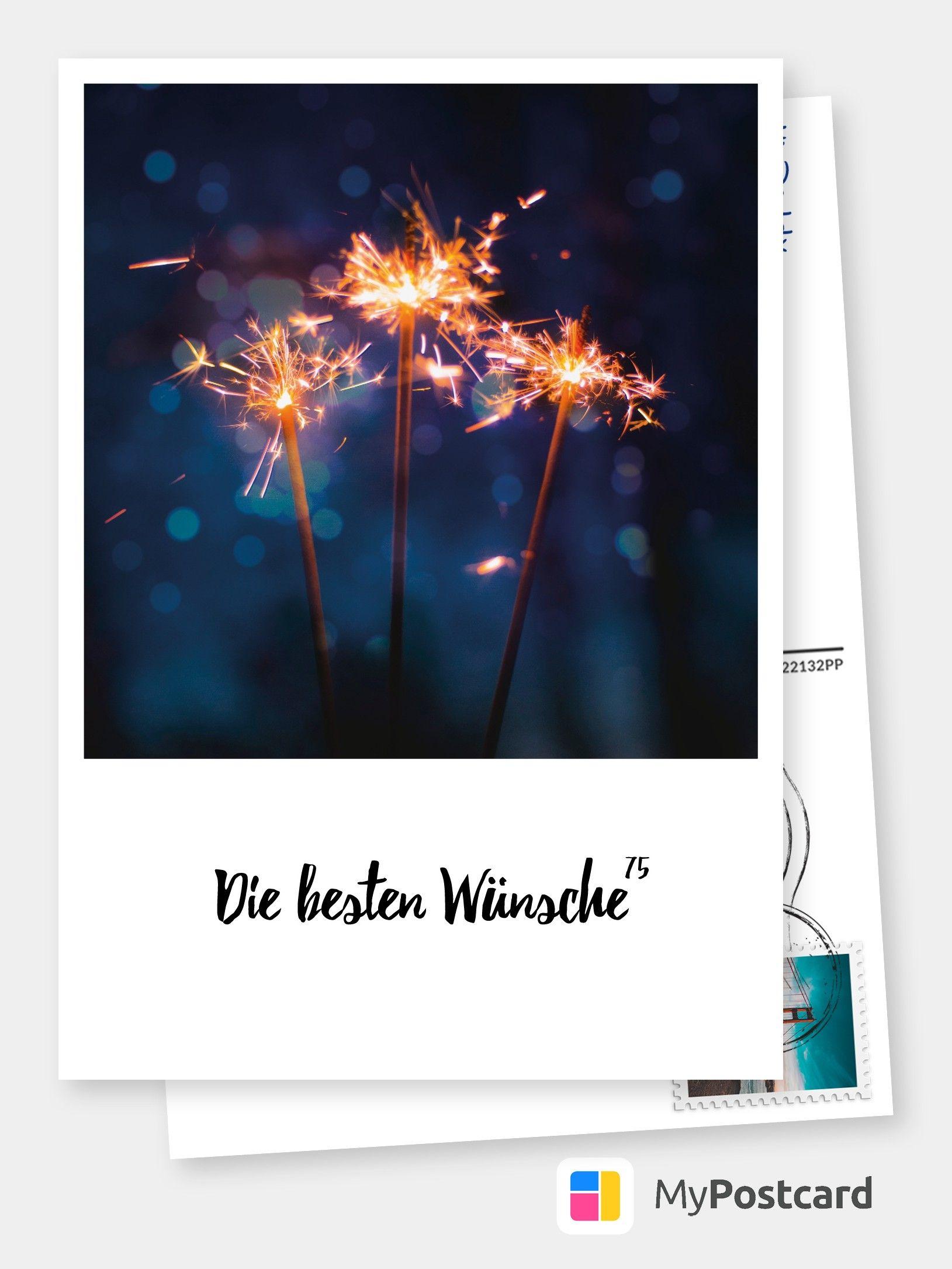 Die Besten Wunsche 75 Geburtstagskarten Spruche