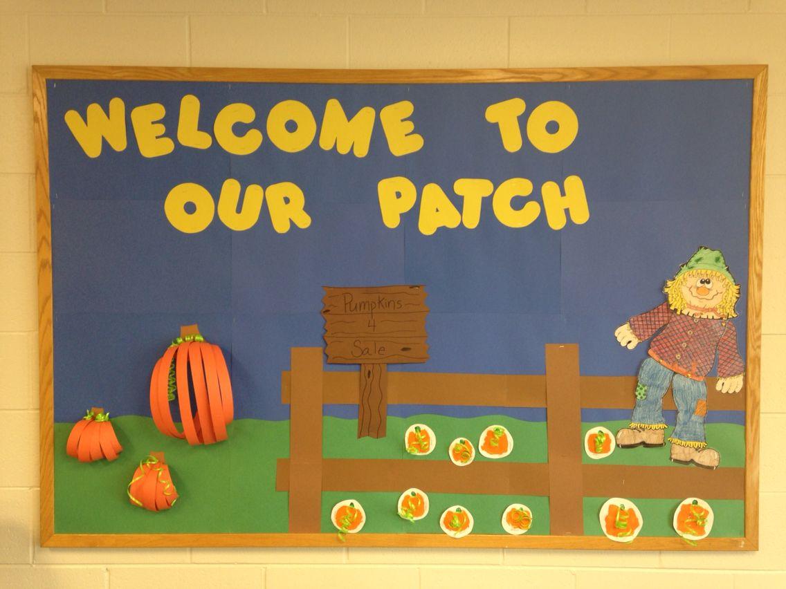 Fall Bulletin Boards Pumpkins Fall Bulletinboards