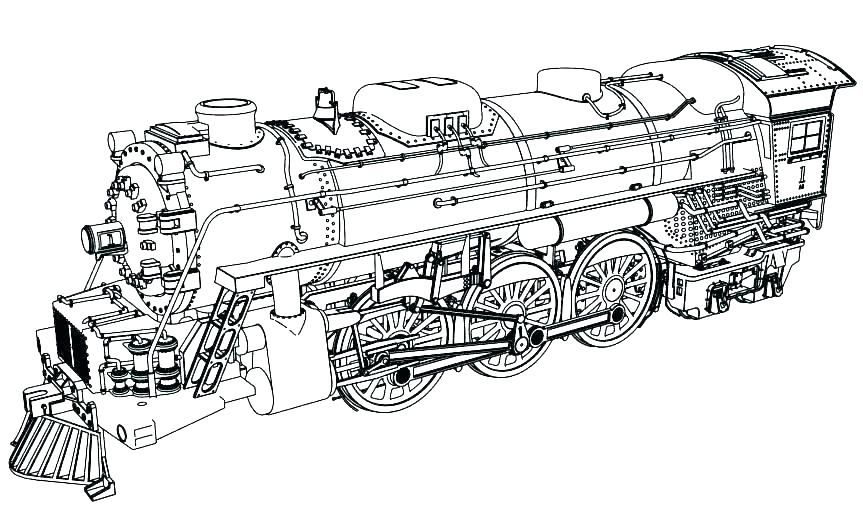 Coloring Pages Trains Steam Steam Locomotive Coloring Pages Train Trains Together With Engine Steam Lo Train Coloring Pages Truck Coloring Pages Coloring Pages