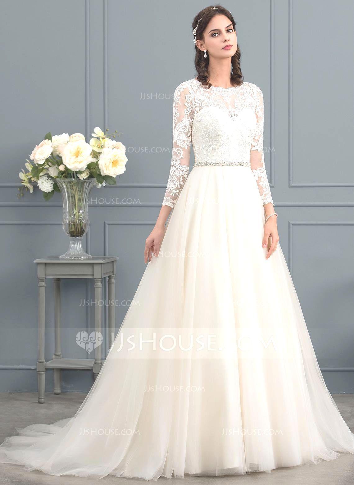 Brautkleid A Linie Schlicht – Valentins Day  Kleider hochzeit