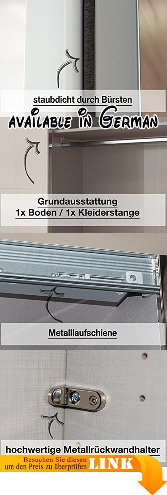 Großartig Kleiderschrank 250 Breit Ideen Von B01dgeytqw : Express Möbel Schwebetüren-kleiderschrank Mit Spiegel