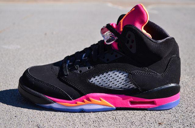 Air Jordan 5 Black Pink