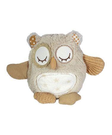 Look at this #zulilyfind! Night Night Owl Musical Plush #zulilyfinds