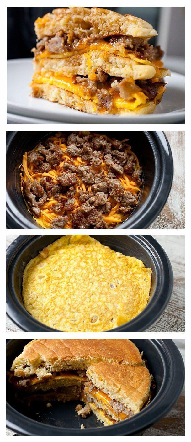 Pancake Breakfast Bake Recipe Pancake breakfast Breakfast bake