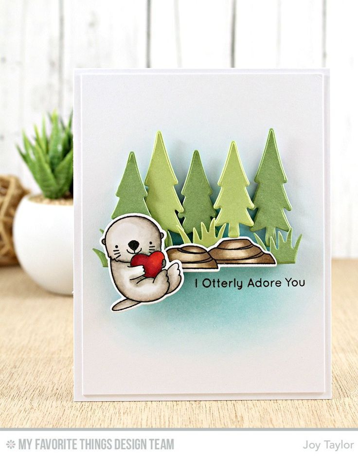 Image result for MFT clear stamp otterly in love