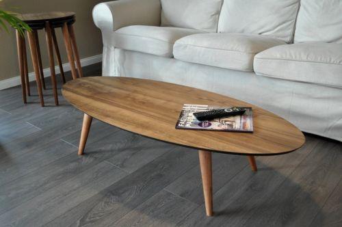 design couchtisch te 1 oval walnuss nussbaum carl svensson tisch neu work office. Black Bedroom Furniture Sets. Home Design Ideas