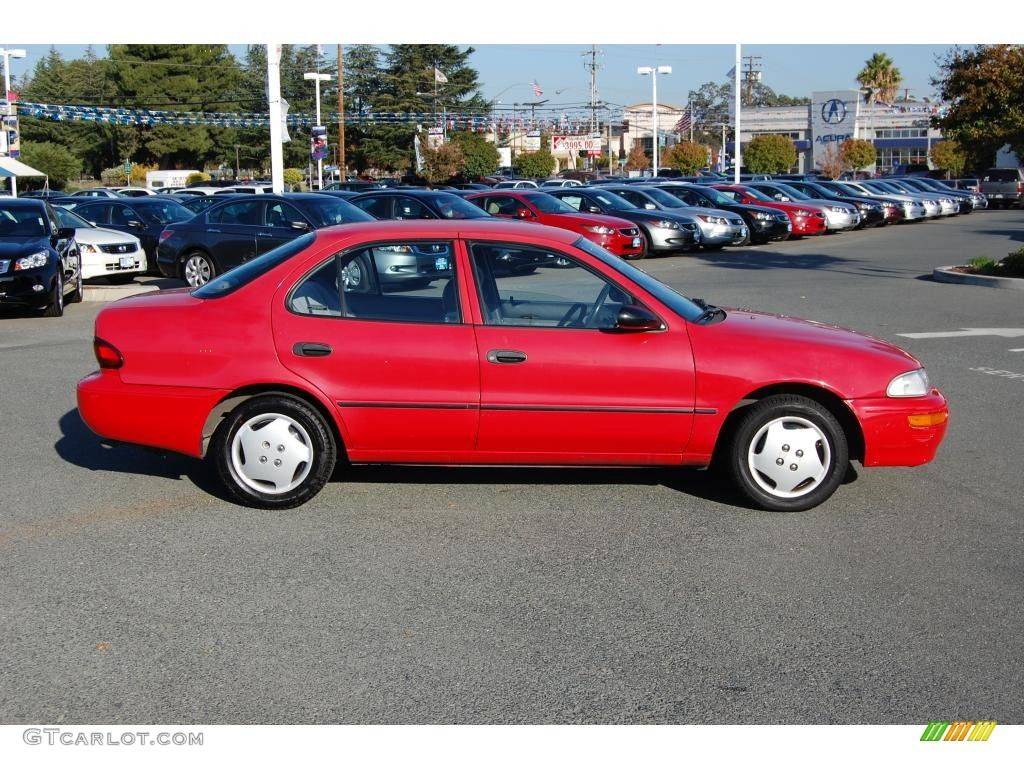 small resolution of red 1995 geo prizm this was exactly like our geoffy that we had for many years what a great car