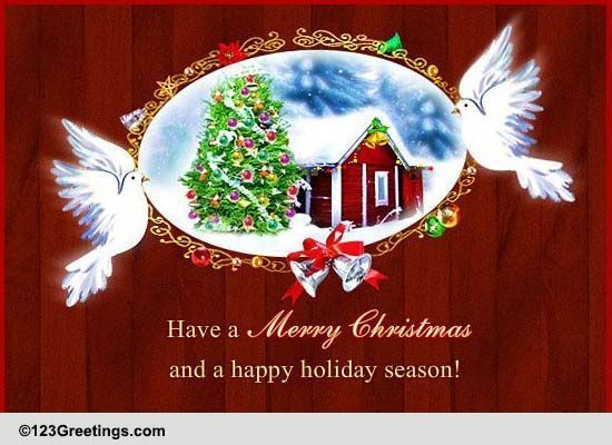 spread the spirit of christmas through this ecard free online peace love and joy on christmas ecards on christmas