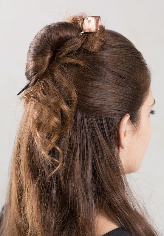 How Gorgeous Is This The Fun Hairstyle The Burnished Copper