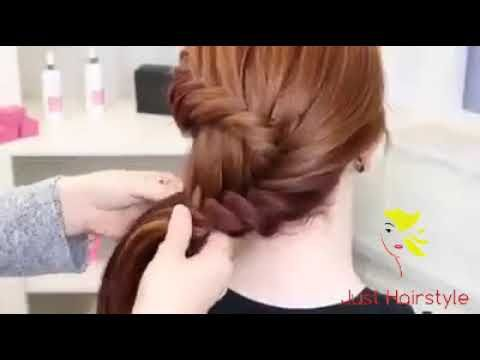 Mehndi Hairstyles Review : Simple mehndi hairstyle for medium hair girls quick