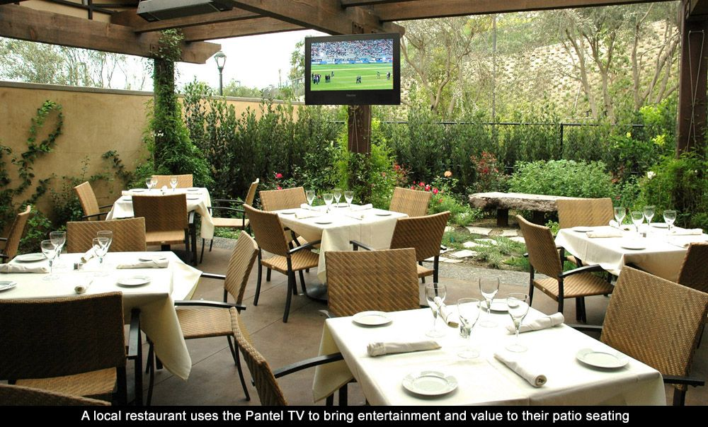 Restaurant Exterior Covered Patio Design | Outdoor Restaurant Application