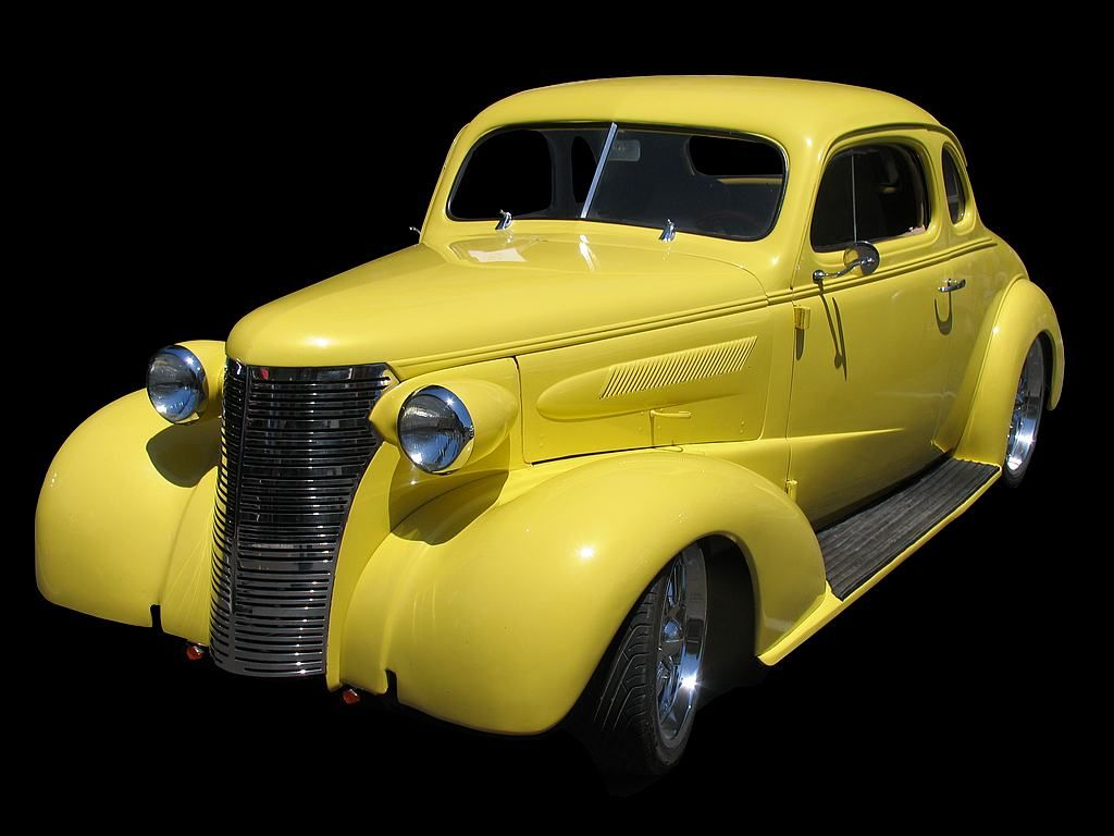 Cars colored yellow - Classic Yellow Car