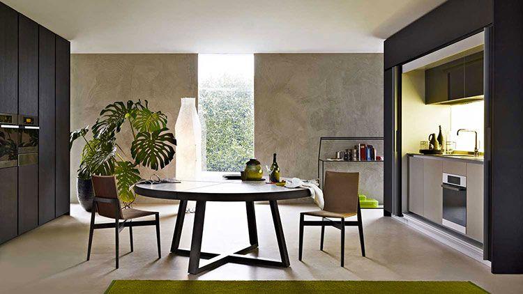 Tavoli Rotondi Allungabili dal Design Moderno Interni